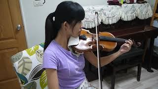 """Louis Liao 小潘潘、小峰峰""""學貓叫"""" 小提琴與鋼琴"""