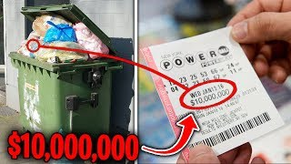 Top 10 LUCKIEST Things FOUND IN THE TRASH!