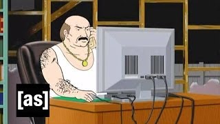 You're Not Paying Attention! | Aqua Teen Hunger | Adult Swim
