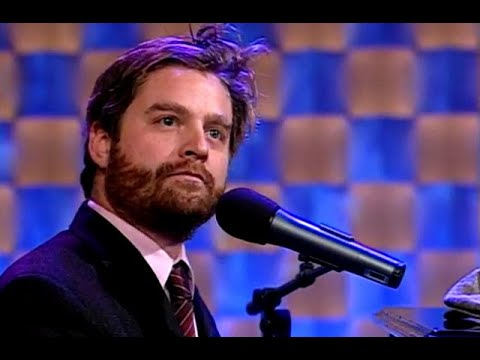 """Zach Galifianakis Is Addicted To Cold Turkey – """"Late Night With Conan O'Brien"""""""