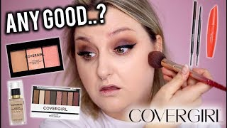 ANY GOOD..? FULL FACE OF COVERGIRL MAKEUP