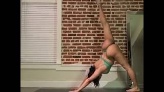 Contortion,Yoga Routine