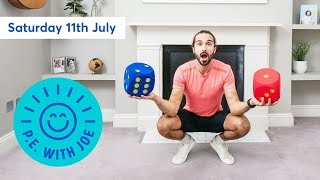 PE With Joe | Saturday 11th July