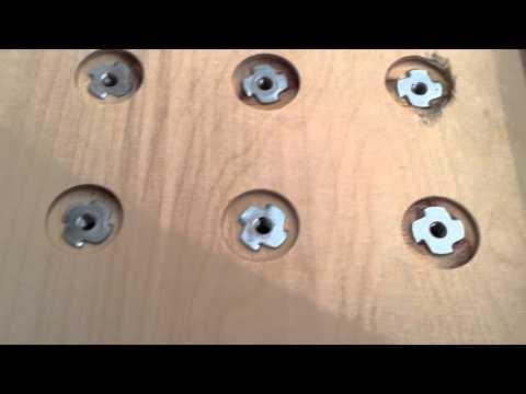 CNC Video #016: Probleme bei der Befestigung der Einschlagmuttern