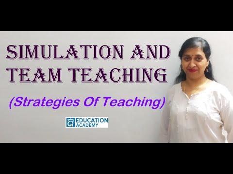 SIMULATION & TEAM TEACHING(STRATEGIES OF TEACHING)||UNIT-2II LEARNING & TEACHING||EDUCATION ACADEMY