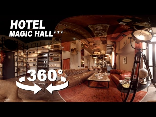 Publicité 360° Visite virtuelle Hôtel Magic Hall