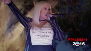 Christina Aguilera - Fighter is dedicated to Hillary and the fighters out there