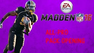 MUT 16 ALL-PRO PACK OPENING!