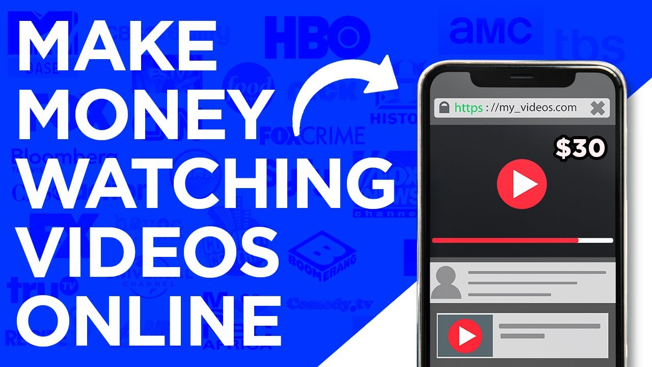 Make $30 Per Hour WATCHING VIDEOS|Generate Income Online