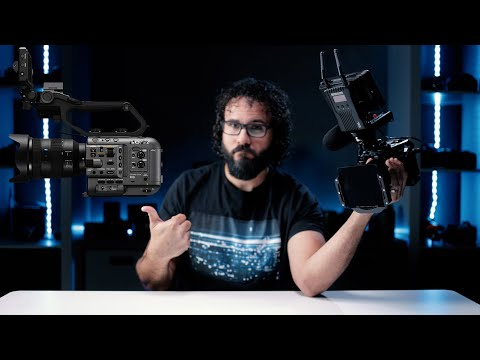 External Review Video xrsoQbnc2oY for Sony Cinema Line FX6 Camcorder (ILME-FX6)