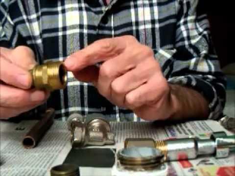 Fontanería para principiantes. Componentes, uso y forma de instalarlos.