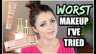 WORST MAKEUP PRODUCTS | Get OUT of my Collection!
