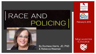 VIDEO: Harris Talks About Race and Policing
