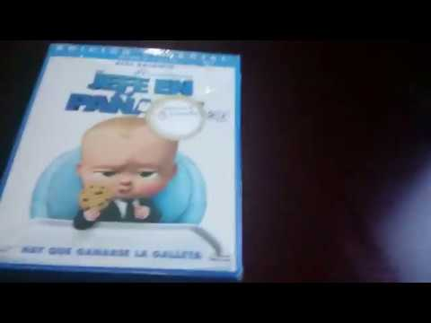 Un jefe en pañales (The Boss Baby) Blu-ray 3D unboxing