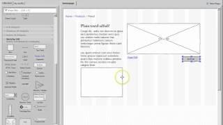 Website Wireframes, part2, Pencil