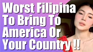 Don't Bring This Filipina to America or Your Country   Finding a Filipina   Dating a Filipina