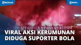 Viral Video Aksi Diduga Dilakukan Suporter Persis Solo di Jembatan Tirtonadi, Polisi: Tidak Ada Izin