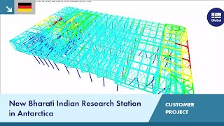 CP 000649 | New Indian Research Station 'Bharati' in Antarctica