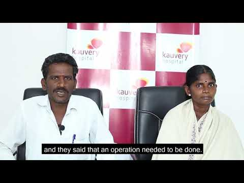 Ms. A. Muniyammal, our patient who overcame her ur...