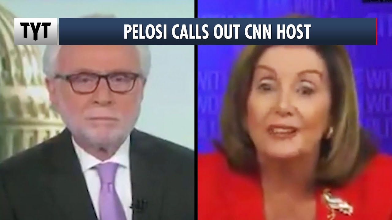 Nancy Pelosi Gets Into Heated Debate With Wolf Blitzer thumbnail