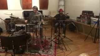 Falloe recording at Toyland Studio – 2012