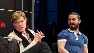Robert Redford & Shia LaBeouf   Interview   TimesTalks