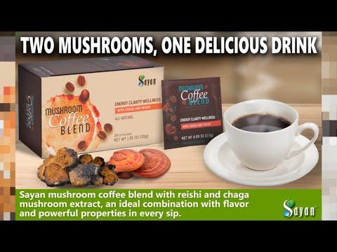 Coffee Blend - Mushroom Chaga Coffee Blend