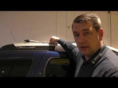 Dacia Duster II Relingträger Querträger