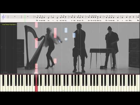 Вите Надо Выйти - ESTRADARADA (Ноты и Видеоурок для фортепиано) (piano cover)