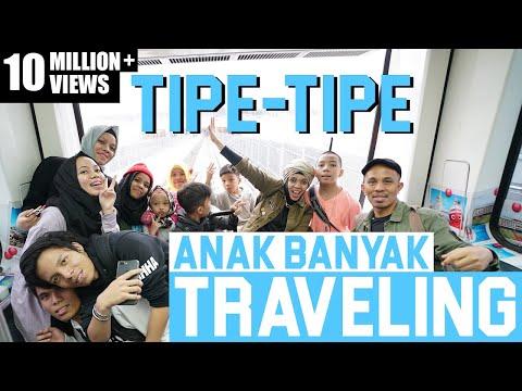 Video TIPE TIPE TRAVELING ANAK BANYAK RUSUH - Gen Halilintar