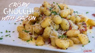 Epic Crispy Gnocchi With Bacon | SAM THE COOKING GUY