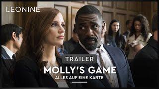Molly's Game Alles auf eine Karte Film Trailer