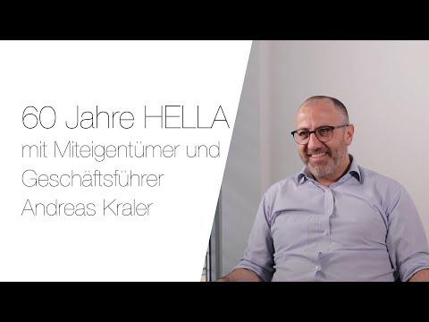 60 Jahre HELLA - Interview mit Geschäftsführer und Miteigentümer Andreas Kraler