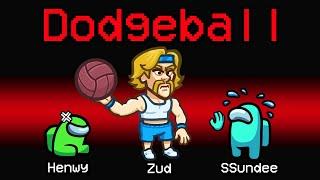 NEW Among Us DODGEBALL ROLE?! (Funny Mod)