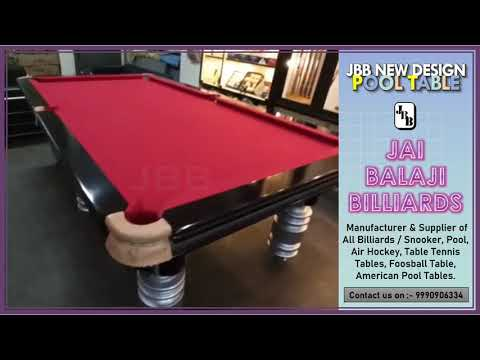 JBB Unique Style Pool Table (P-4)