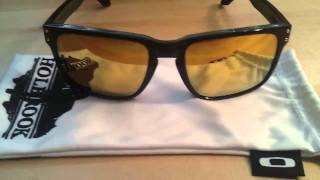 Oakley Holbrook Shaun White Edition 24K Gold Iridium Polished Black