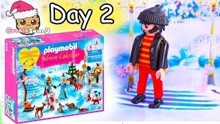 Playmobil Holiday Christmas Advent Calendar Day 2 Cookie Swirl C Toy Surprise Video