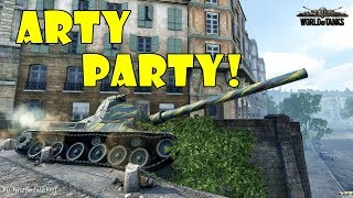 World of Tanks - Funny Moments | ARTY PARTY! #56
