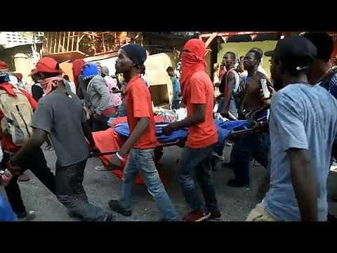 Στο χάος βυθίζεται η Αϊτή: Συνεχίζονται τα βίιαια επεισόδια…