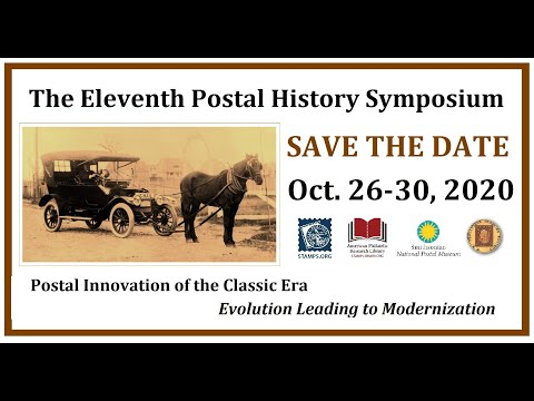 APS Stamp Chat: 11th Postal History Symposium & Updates from the APRL with Mr. Scott Tiffney