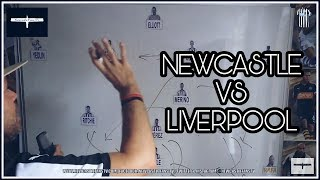 Tactics board   Newcastle United v Liverpool   Preview
