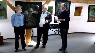 preview picture of video 'Laudatio zur Vernissage Menschliches von Peter F.'
