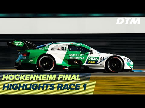 DTM ホッケンハイム(ドイツ) 2020 レース1ハイライト動画