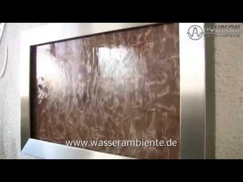 "Wandbrunnen ""Aqualon Acrylic Couture Cangiante"""
