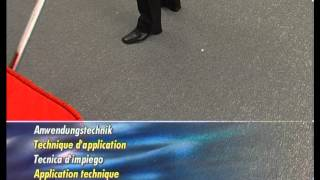 Профессиональный, щеточный, вертикальный пылесос TASKI Jet 38 от компании ВАСП-ТРЕЙД - видео 1