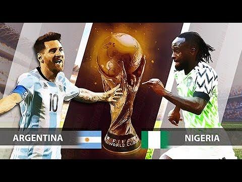 Xem lại trận đấu Argentina vs Nigeria || Vòng bảng FIFA World Cup 2018