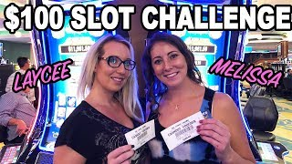 Laycee & Melissa RETURN! 🌸$100 Slot Challenge on DOUBLE BLESSINGS | Slot Ladies