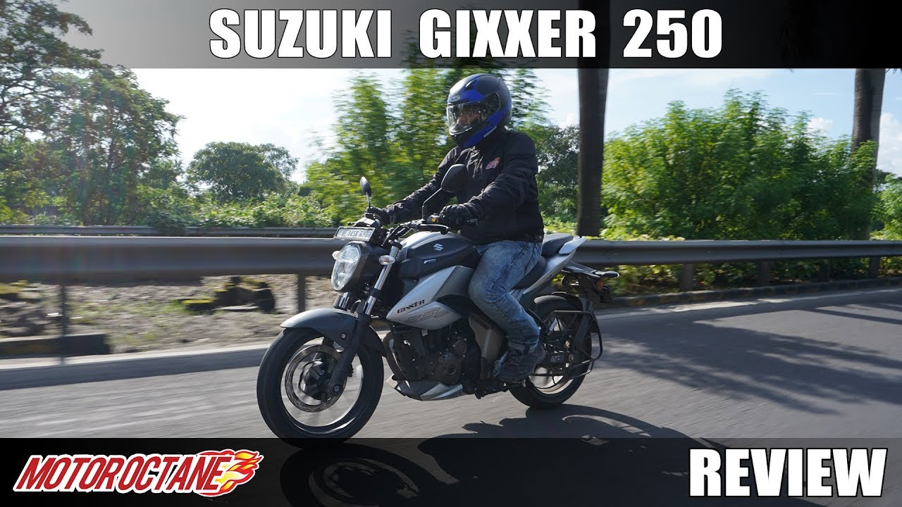 Motoroctane Youtube Video - 2019 Suzuki Gixxer 250 Review | Hindi | MotorOctane