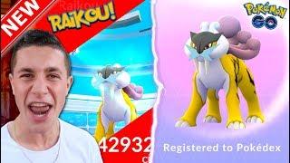 Download Youtube: NEW LEGENDARY RAIKOU CAUGHT IN POKÉMON GO! FIRST GEN 2 BEAST IN THE DEX!