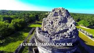 preview picture of video 'DJI-Phantom - Chichen Itza 2014 Unique aerial filming footage'